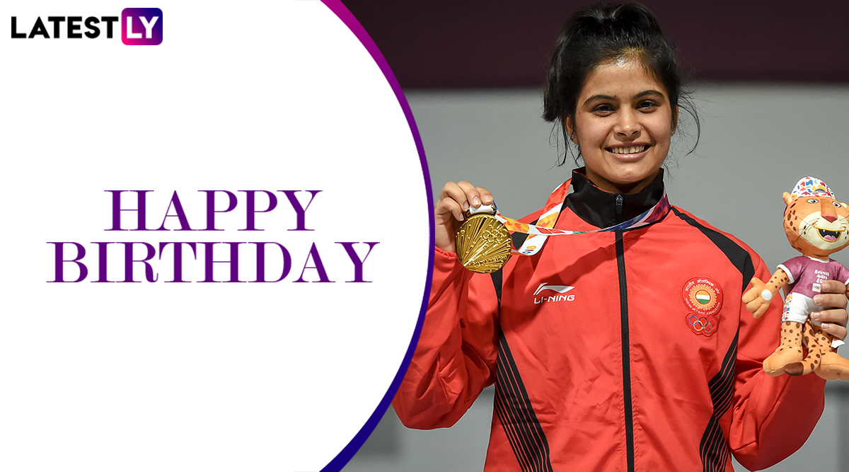 Happy Birthday Manu Bhaker: Times When Young Shooter Made Indian Proud by Hitting Bull's Eye