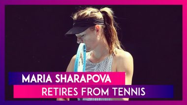 Maria Sharapova Retires From Tennis: A Look At Her Most Memorable Moments On Court
