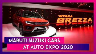 Maruti Suzuki At Auto Expo 2020: New Vitara Brezza, New Ignis, Futuro-e Concept, S-Cross & More