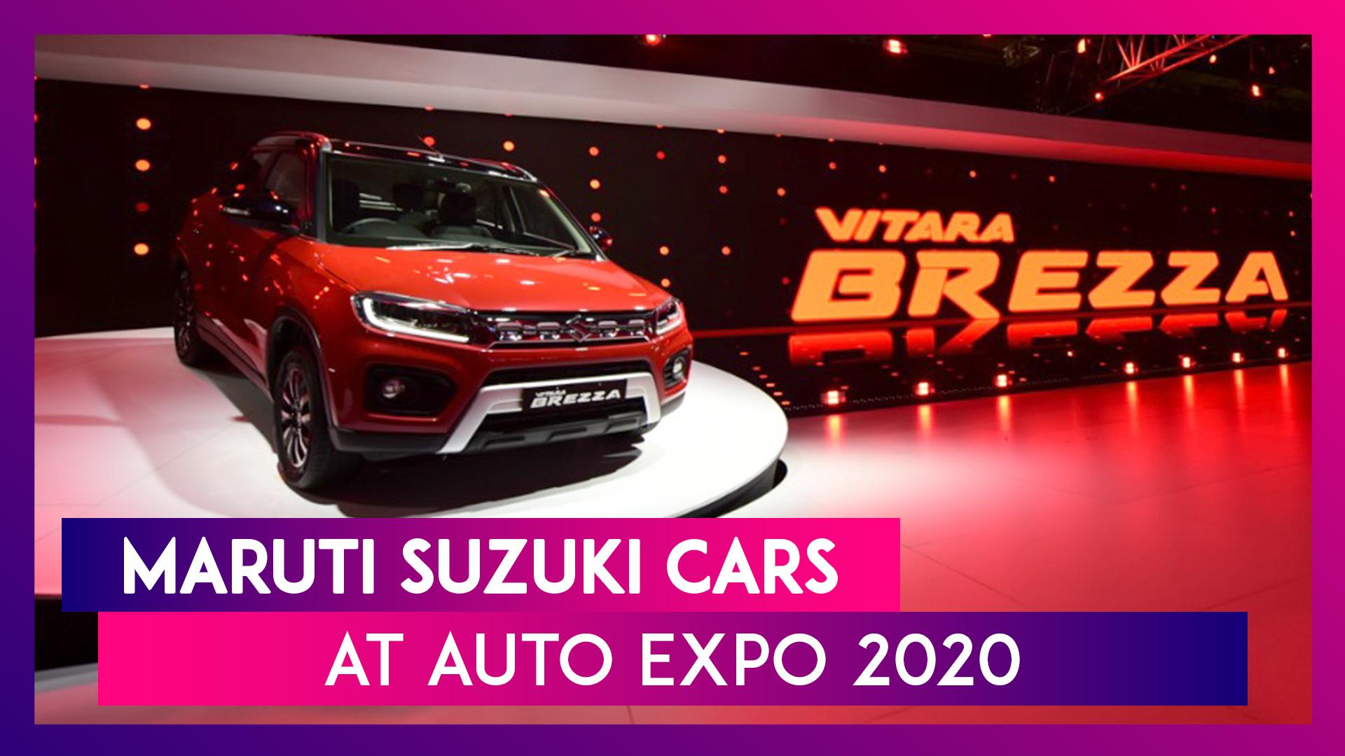 Maruti Suzuki At Auto Expo 2020: New Vitara Brezza, New Ignis, Futuro-e Concept, S-Cross & More