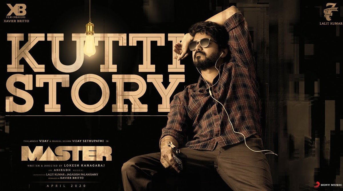 master song kutti story lyric video thalapathy vijays voice anirudhs