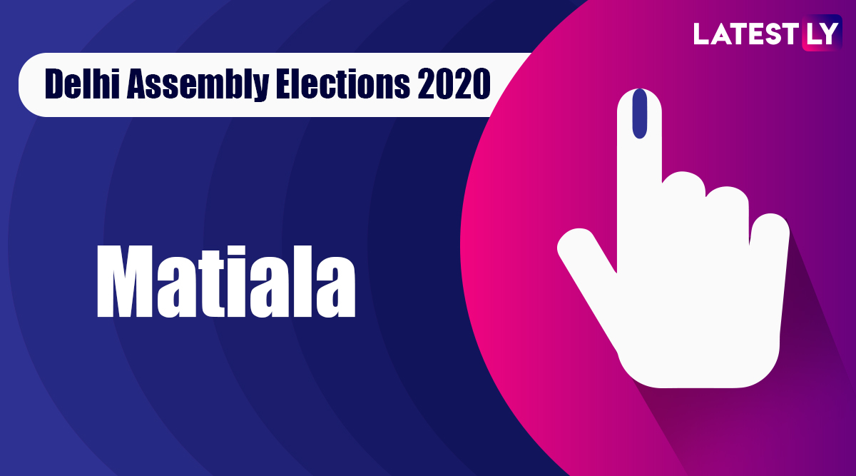 Matiala Election Result 2020: AAP Candidate Gulab Singh Declared Winner From Vidhan Sabha Seat in Delhi Assembly Polls