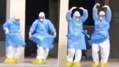 Two Chinese Medics Perform Ballet Outside Hospital to Celebrate Recovery of 6 Patients Suffering From Coronavirus (Watch Video)