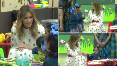 Melania Trump Remembers Visiting Sarvodaya School, Sends Love to Delhi Government School Students and Faculty