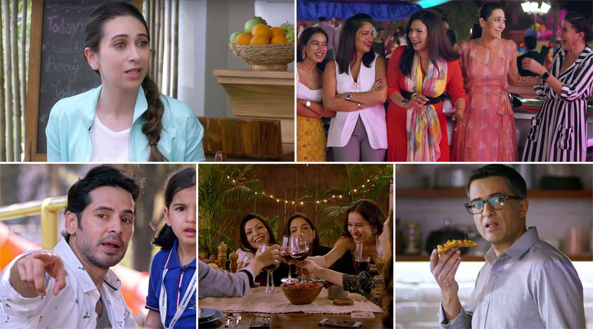 Mentalhood Teaser: Motherhood Goes for a Toss in this Karisma Kapoor, Shruti Seth, Sandhya Mridul Starrer ALTBalaji Series (Watch Video)