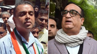 Milind Deora, Ajay Maken Engage in War of Words After Congress Drubbing in Delhi Elections 2020