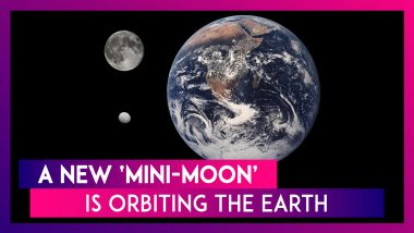 A New 'Mini-Moon' Is Orbiting The Earth, But It Won't Be Here For Long