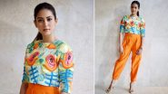 Mira Kapoor Is Hot, Hip and Happening in a Bold Tangerine Ensemble!