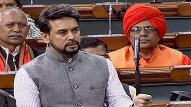 'Goli Maarna Bandh Karo' Chants Echo in Parliament As MoS Finance Anurag Thakur Faces MPs' Ire Over Shaheen Bagh And Jamia Shooting