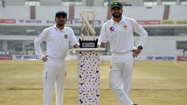 PAK vs BAN 1st Test Match 2020 Day 1 Live Streaming on PTV Sports & Sony Liv: How to Watch Free Live Telecast of Pakistan vs Bangladesh on TV & Cricket Score Updates in India Online