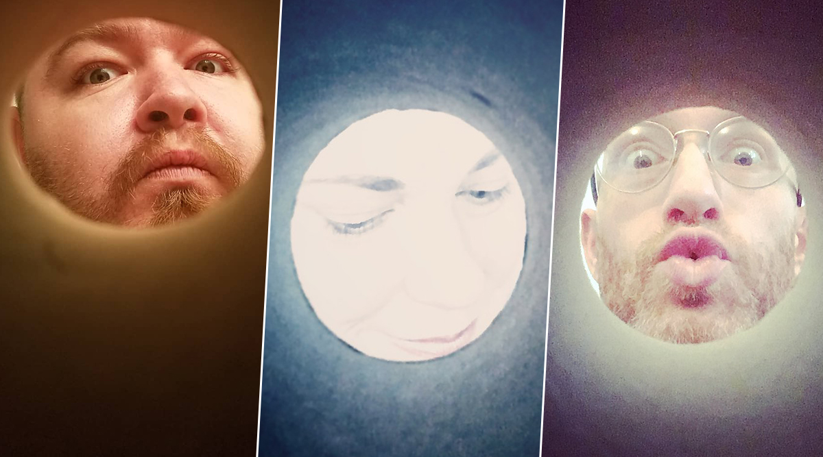 People Are Using Toilet Paper Rolls to Look Like Moon in Latest Trend! Funny #MoonSelfies Go Viral