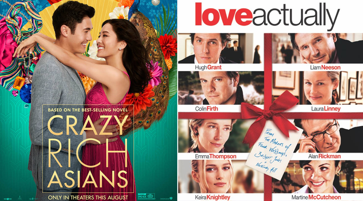 Most Searched Romantic Comedies In The US On Valentine's Day 2020: From Crazy Rich Asians to Love Actually, Movies That Top The V-Day Watch-list