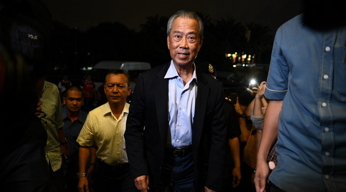Muhyiddin Yassin Sworn in as 8th Prime Minister of Malaysia ...