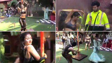 Mujhse Shaadi Karoge: Suitors Seduce Shehnaaz Gill and Paras Chhabra by Doing a Sexy Pole Dance (Watch Video)