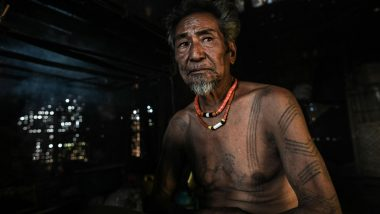 A Naga Tribe: Myanmar's Last Generation of Tattooed Headhunters Who Received the Mark to Celebrate Victory