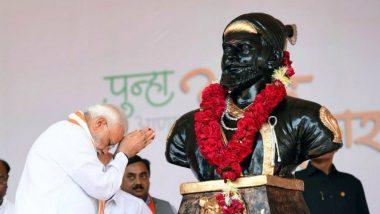 PM Narendra Modi Pays Tributes to Chhatrapati Shivaji Maharaj on His 390th Birth Anniversary
