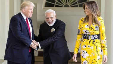 PM Narendra Modi Tweets Ahead of Donald Trump's India Visit, Says 'India Looks Forward to Welcoming Him'