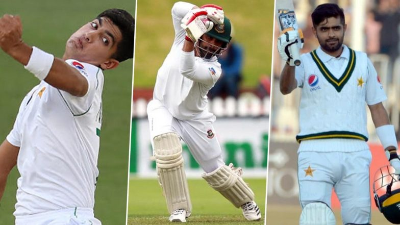 Pakistan vs Bangladesh Test Series 2020, Key Players: Naseem Shah, Tamim Iqbal, Babar Azam and Other Cricketers to Watch Out for