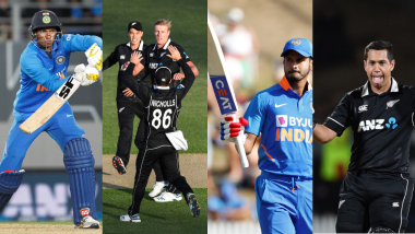 India vs New Zealand, 3rd ODI 2020, Key Players: Shreyas Iyer, Ross Taylor, Navdeep Saini and Other Cricketers to Watch Out for at Mount Maunganui