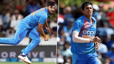 Navdeep Saini in Place of Shardul Thakur! Twitterati Asks for Former's Inclusion After India's Four-Wicket Loss Against New Zealand in 1st ODI