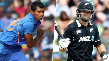 Navdeep Saini vs Ross Taylor and Other Exciting Mini Battles to Watch Out for During India vs New Zealand 3rd ODI 2020 in Mount Maunganui
