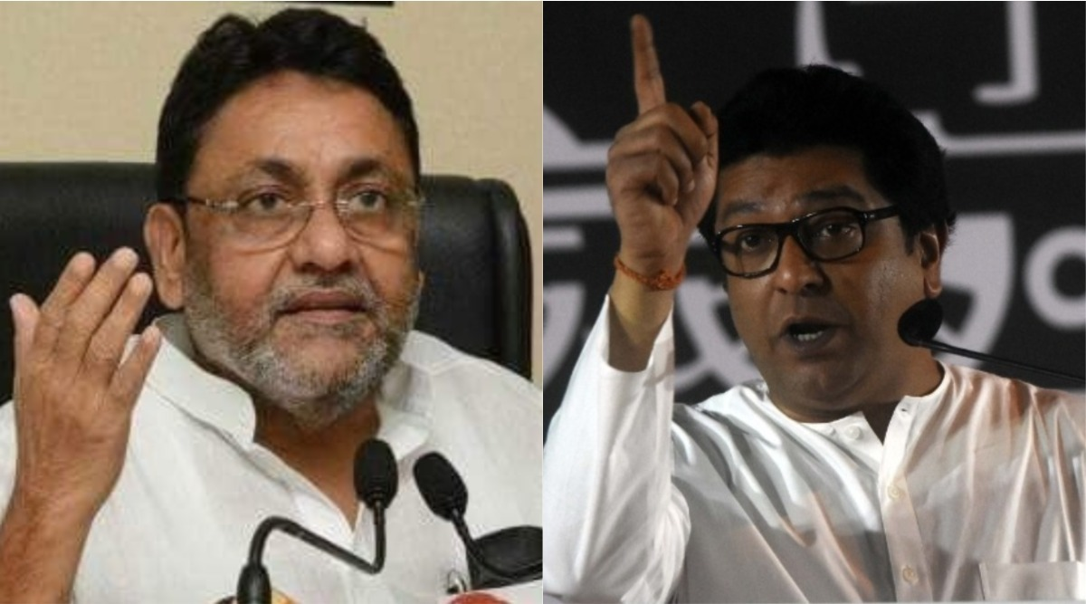 Nawab Malik Lashes Out at Raj Thackeray Over His 'Sword For Sword, Stone For Stone' Remark Against Anti-CAA Protesters