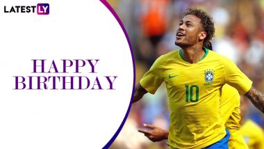 Neymar Birthday Special: Interesting Facts About the Brazilian Footballer As He Turns 28