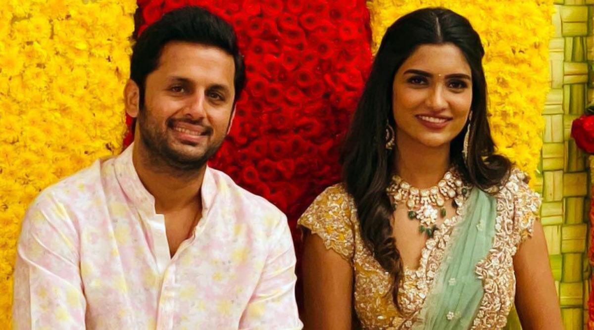 Bheeshma Actor Nithiin and Shalini Get Engaged! (View Pics)