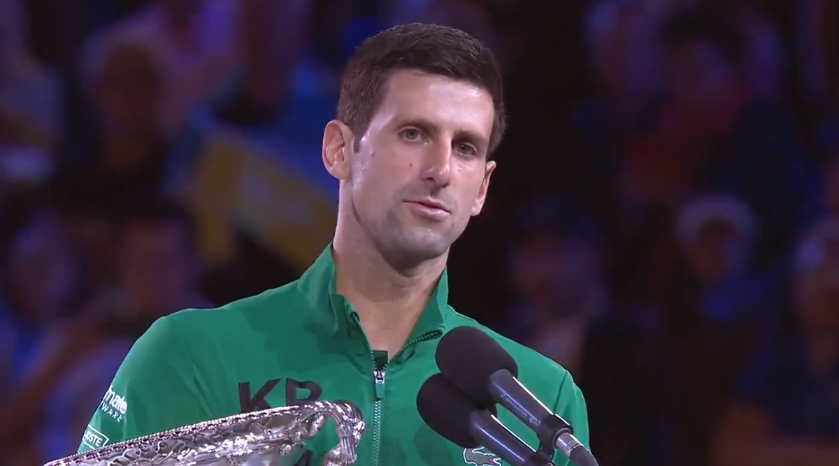 Novak Djokovic Pays Rich Tribute to 'Mentor' Kobe Bryant in Australian Open 2020 Winning Speech, Says 'This is a Reminder to All of Us That we Should Stick Together More Than Ever'