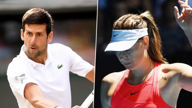 Novak Djokovic Reacts to Maria Sharapova's Retirement, Says 'She Can Be Proud of Herself'