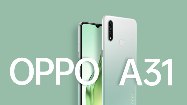 Oppo A31 Featuring A 12MP Triple Rear Camera Setup Launched in India Starting From Rs 11,490; Check Features, Variants & Specifications