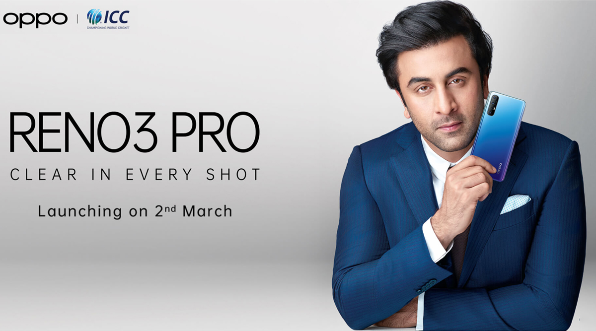 Oppo Reno 3 Pro Smartphone With 44MP Dual Punch-Hole Selfie Camera To Be Launched in India on March 2; Teased on Flipkart
