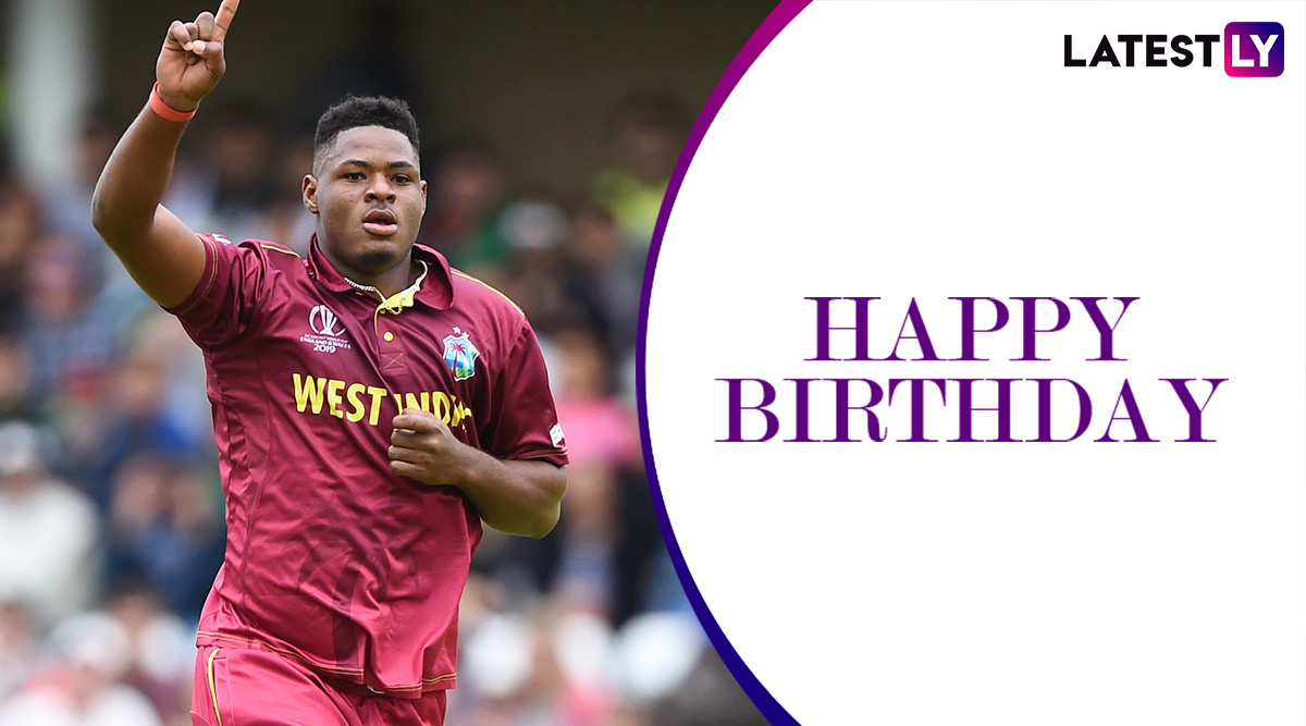 Happy Birthday Oshane Thomas: Best Spells by the Promising West Indies Pacer