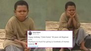 Happy Birthday Osita Iheme! Twitterati Wish The Nollywood Actor and Meme Lord With His Own Funny Pictures