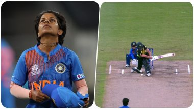 Poonam Yadav Bowls a Double-Bounce No-Ball During India vs Australia, ICC Women's T20 World Cup 2020 (Watch Video)
