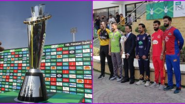 PSL 2020 Trophy Unveiled Ahead of Quetta Gladiators vs Islamabad United Tournament Opener