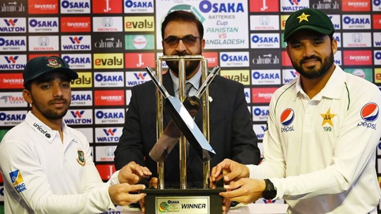 Pakistan vs Bangladesh Live Cricket Score, 1st Test 2019–20: Get Latest Match Scorecard and Ball-by-Ball Commentary Details for PAK vs BAN Test From Rawalpindi