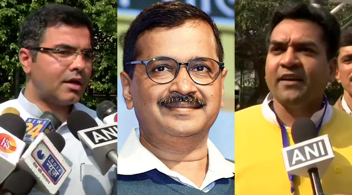 Delhi Assembly Elections Results 2020: BJP's Parvesh Verma And Kapil Mishra Congratulate AAP on Victory, Concede Defeat