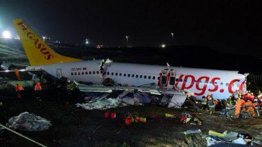Turkey: Plane Skids off Runway at Istanbul Airport, 3 Dead, 179 Injured