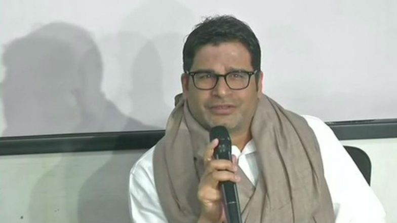 Prashant Kishor Questions Nitish Kumar on JDU-BJP Alliance, Says 'Gandhi And Godse Cannot Go Hand in Hand'