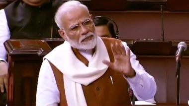 PM Narendra Modi Speech in Rajya Sabha: 'Jhooth' Word Expunged From Prime Minister's Address in Rare Instance