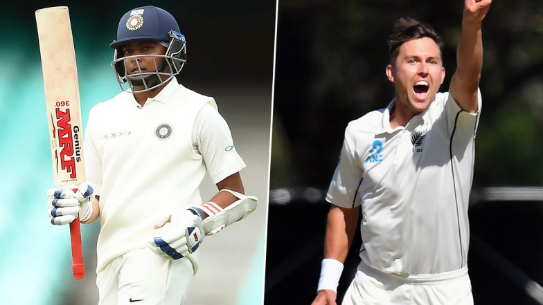 Prithvi Shaw vs Trent Boult and Other Exciting Mini Battles to Watch Out for During India vs New Zealand 1st Test 2020 in Wellington