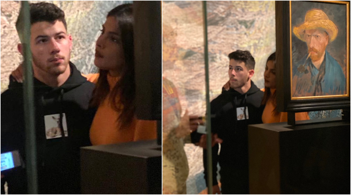 Priyanka Chopra and Nick Jonas Snapped Taking a Tour of Van Gogh Museum in Amsterdam (View Pics)