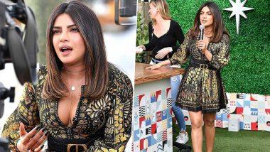 Priyanka Chopra, the Glamazon in Animal Print Dior Dress Cooked Up a Storm in Miami!