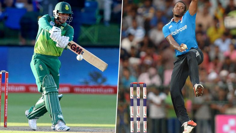 Quinton De Kock vs Chris Jordan and Other Exciting Mini Battles to Watch Out for During South Africa vs England 1st T20I 2020 in East London