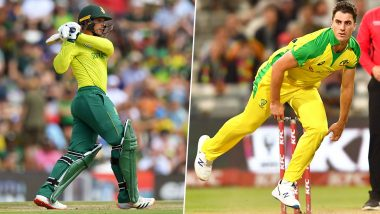 Quinton de Kock vs Pat Cummins and Other Exciting Mini Battles to Watch Out for During South Africa vs Australia 3rd ODI 2020 in Potchefstroom