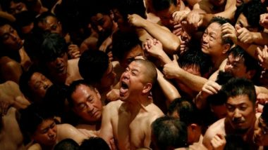 Japan's Naked Festival Begins, Thousands Gather For Hadaka Matsuri Celebration