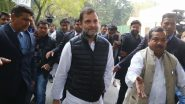 Rahul Gandhi Birthday Wishes: Congress Leaders, Other Politicians Extend Greetings, Check Tweets