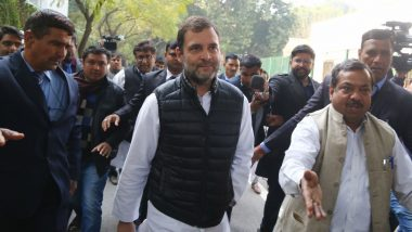 Rahul Gandhi Congratulates Arvind Kejriwal on AAP's Landslide Win in Delhi Assembly Elections 2020