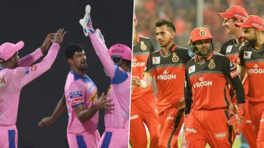 Rajasthan Royals Trolls Royal Challengers Bangalore for Using Their Wrong Logo (See Post)